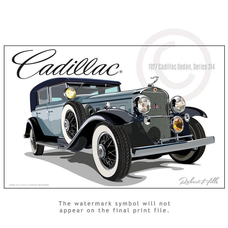 1927 cadillac sedan