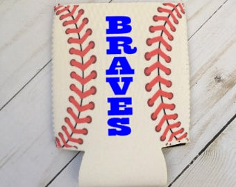 Personalized Baseball Can Coolie