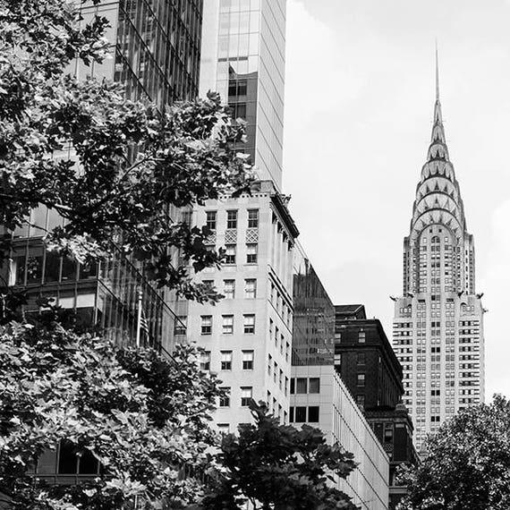 Chrysler Building Photo Print NYC Photography New