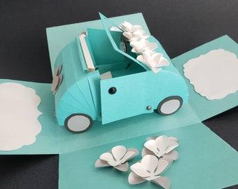 Exploding gift card holder/ Card