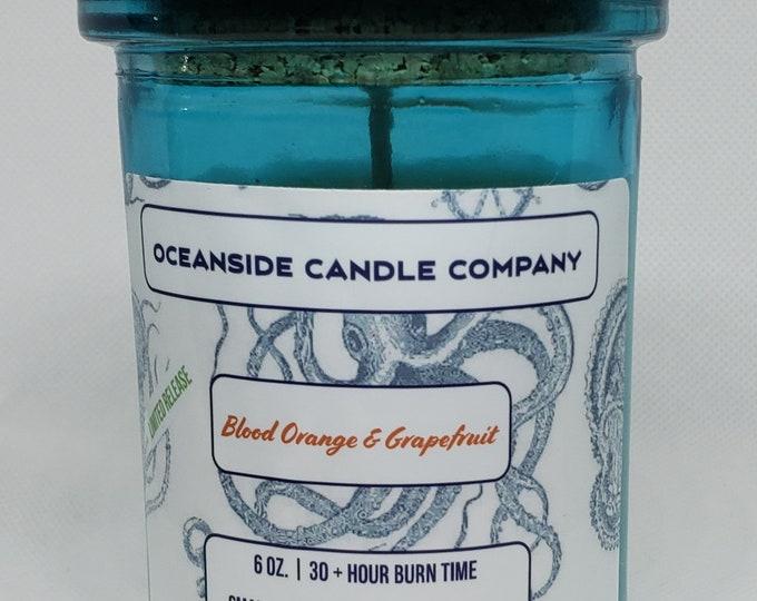 Blood Orange & Grapefruit - 6 oz Soy Candle