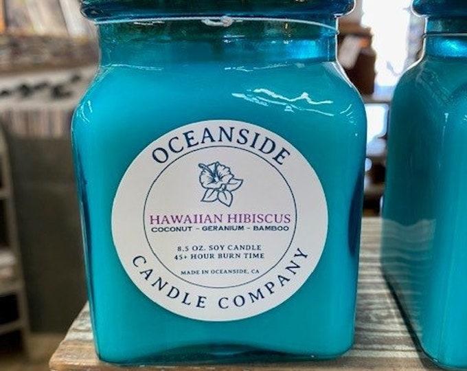 Hawaiian Hibiscus- 8 oz Candle