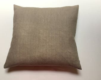 Linen decorative cushion cover, Natural Linen Home Decor, Linen sofa pillow cover, Linen cushion cover - Natural