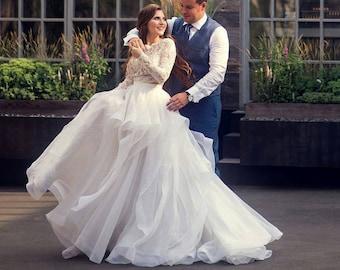 Unique wedding dress | Etsy