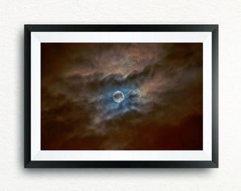 The Eye of Heaven, canvas, print, print, canvas.