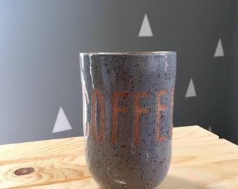 Coffee Ceramic Tumbler