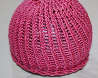 Small Magenta Child Sized Hat