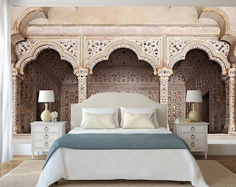 Wall Arches, Oriental Wall Mural, Peel And Stick Wallpaper, Wall Decal  Arches, Wall Mural Arches