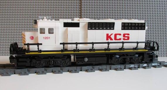 Lego Train Custom Kansas City Southern GP40 READ Item description PLEASE