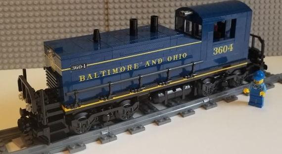 Lego Train Custom Unstoppable Movie ES44ac PLEASE READ ITEM DESCRIPTION
