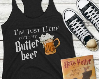 Butterbeer Shirt, Universal Vacation Shirt, Wizarding Shirt, Beer Shirt, Potter Shirt, Potter Butterbeer