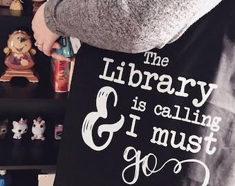 Book Lover Gift, Librarian Gift, Bookish Bag, Bookish Gifts, Reader Gift, Bookworm for Her, Book Lover Tote Bag, Librarian Gift, Bookstagram