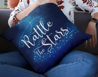 Rattle the Stars Pillow Case, Throne of Glass, Sarah J Maas, Aelin Ashryver, Pillow Cover