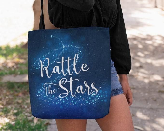 Rattle the Stars Tote Bag, Throne of Glass, Celaena, Dorian, Chaol, Rowan, Aelin, Kingdom of Ash, Sarah J Maas, Queen of Shadows, Gift