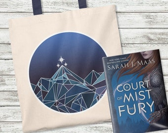 Night Court Tote Bag, A Court of Thorns and Roses, Rhysand, Feyre, Feysand, Court of Dreams, Sarah J Maas, ACOMAF, Mist and Fury, Tote Bag