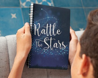 Rattle The Stars Throne Of Glass Notebook