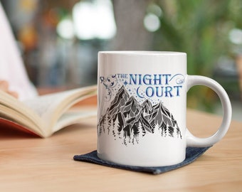 ACOTAR Mug, Night Court, Rhysand, Feyre, Feysand, Illyrian Warriors, Cassian, Azriel, A Court of Thorns and Roses, Sarah J Maas
