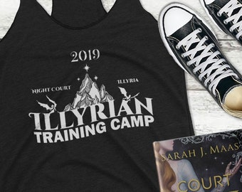 2019 Illyrian Camp Tank Top, Cassian, Nesta, Frost and Starlight, Rhysand, Azriel, Night Court, ACOFAS, ACOMAF, Nessian, Sarah J Maas