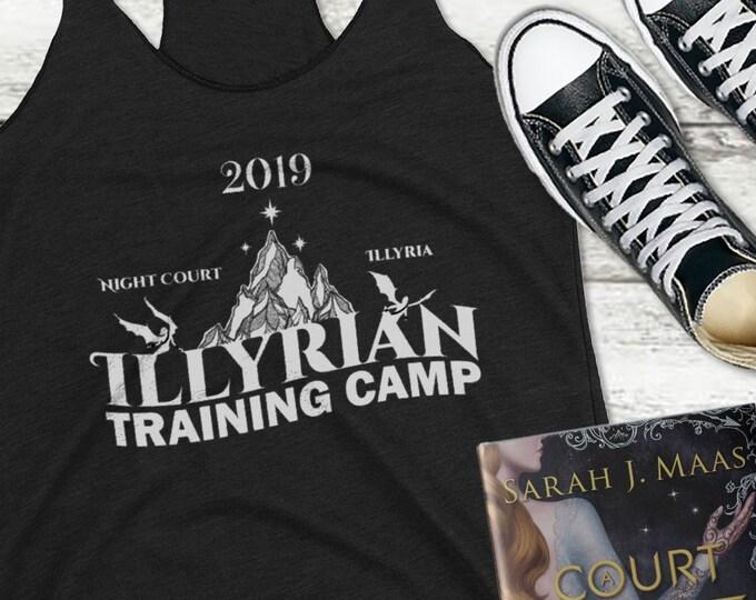 2019 Illyrian Camp Tank Top, Cassian, Nesta, Frost and Starlight, Rhysand, Azriel, Night Court, ACOFAS, ACOMAF, Nessian, Sarah J Maas