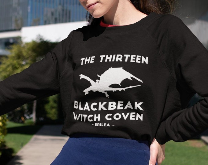 Throne of Glass Sweatshirt, The Thirteen Blackbeak Witch Coven, Halloween, Throne of Glass, Manon Blackbeak, Asterin, Irontheet Witches