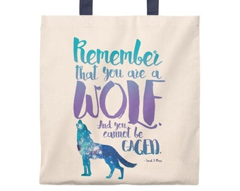 A Court of Wings and Ruin, Tote Bag, Remember That You Are a Wolf, Bookish, ACOWAR, Sarah J Maas, Feysand, Feyre, Rhysand, Rhys and Feyre