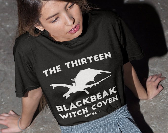 Throne of Glass Shirt, Manon Blackbeak, The Thirteen Blackbeak Witch Coven, Asterin Blackbeak, Irontheet Witches, Halloween Shirt, Bookish