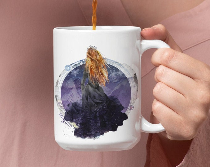 ACOTAR Night Court Mug, Feyre Archeron, A Court of Thorns and Roses, Rhysand, Sarah J Maas, Bookish Gift
