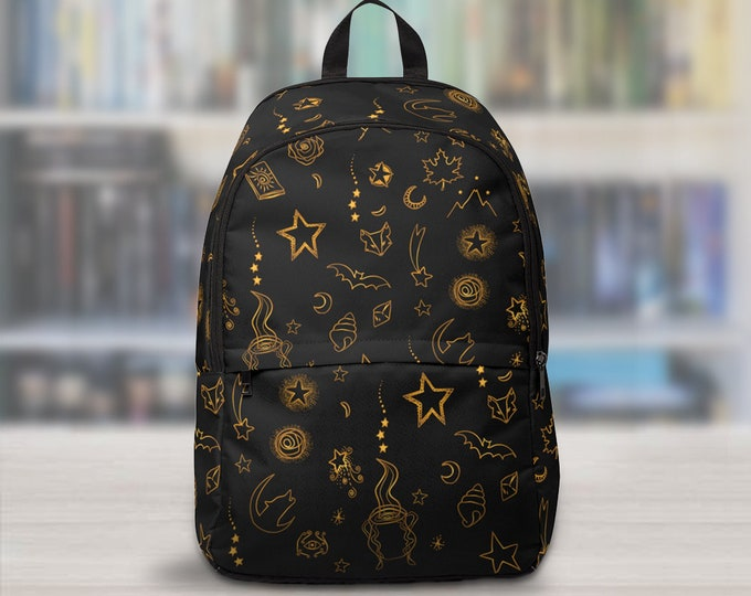 ACOTAR Backpack, A Court of Thorns and Roses Bag, Back to School, Bookish Bag, Rhysand, Feyre, Azriel, Cassian, Night Court, Sarah J Maas