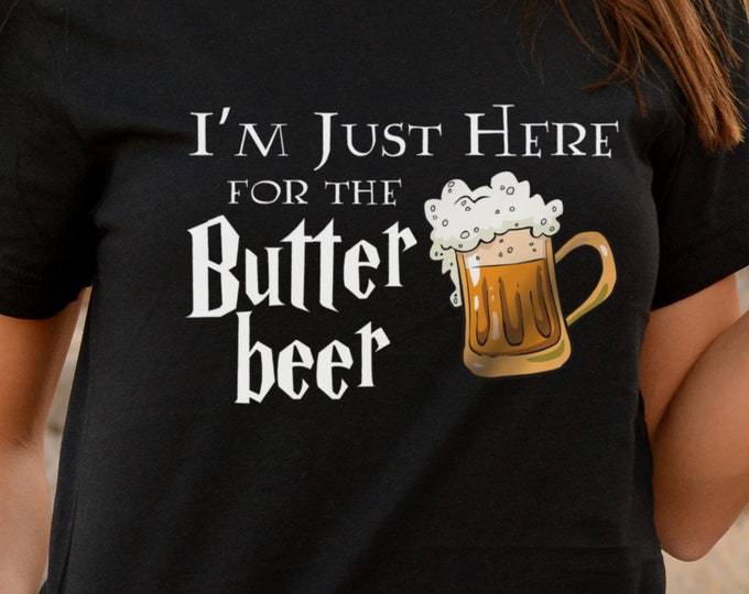 Butterbeer Shirt, Universal Vacation Shirt, Universal Family Trip, Wizarding Shirt, Potter, Wizard Beer