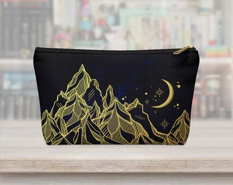 Night Court, A Court of Mist and Fury, Pencil Bag, Feyre, Makeup Bag, Carry All Pouch, Sarah J Maas, Rhysand, Feysand, Merch, Gift, Bookish