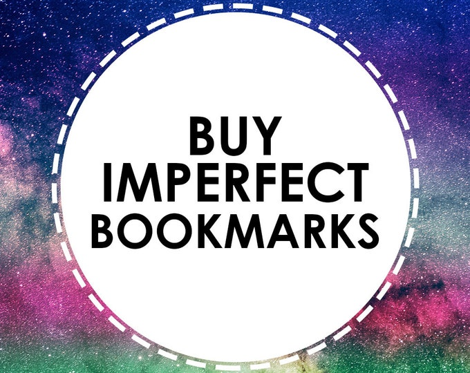 Buy discounted Regular Bookmarks that have slight imperfections or defects - ALL SALES FINAL - On Sale