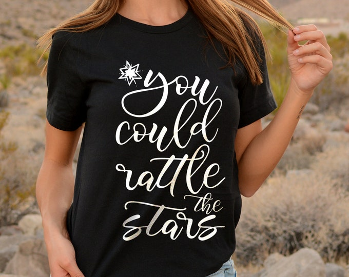 Rattle the Stars Shirt, Throne of Glass Merch, Aelin and Rowan, Rowaelin, Dorian, Chaol, Manon, Celaena, Sarah J Maas