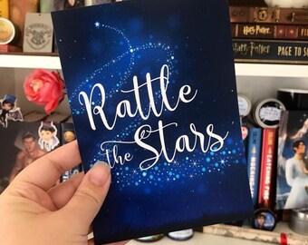 Rattle the Stars Print, Aelin, Throne of Glass, Dorian, Rowan, Chaol, Bookish, Sarah J Maas, Inspirational Quote