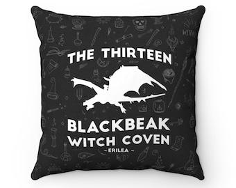 The Thirteen Pillow Case, Throne of Glass, Blackbeak Witches, Pillow Cover, Manon, Asterin, Vesta, Kingdom of Ash, Sarah J Maas