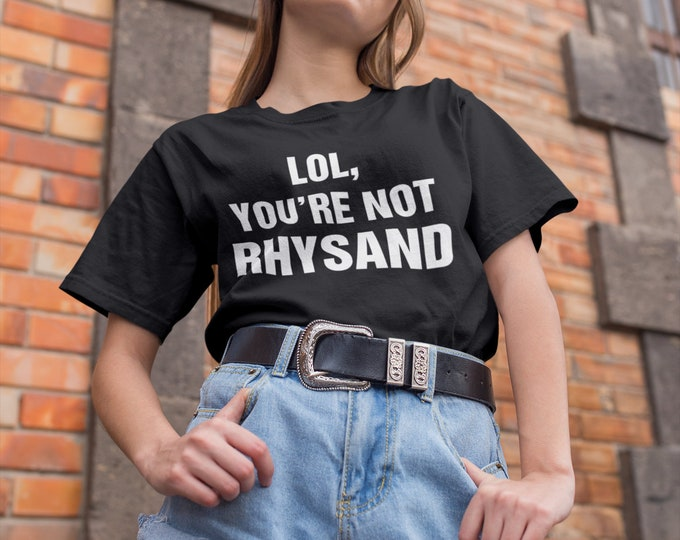 ACOMAF Rhysand Shirt, Book Boyfriend, A Court of Thorns and Roses Gift, Funny ACOTAR Quotes, Sarah J Maas Merch, Feyre and Rhys
