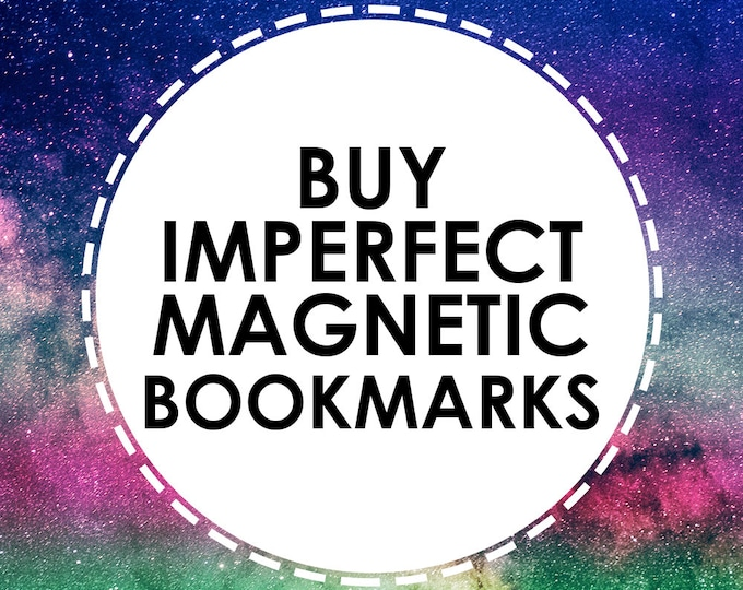 Buy discounted Magnetic Bookmarks that have slight imperfections or defects - ALL SALES FINAL - On Sale