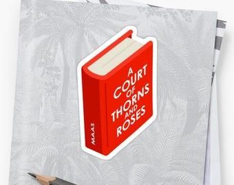 A Court of Thorns and Roses Sticker, ACOTAR Sticker, Rhysand, Feyre, Feysand, Bookish Sticker, Sarah J Maas, Bookstagram