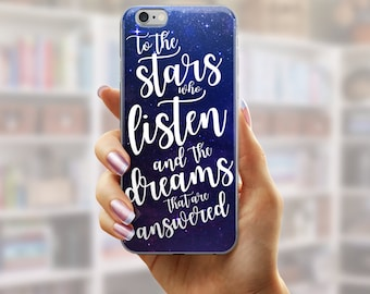 A Court of Mist and Fury iPhone Case, Rhysand iPhone Case, ACOMAF iPhone Case, ACOTAR Galaxy Phone Case, Bookish Phone Case