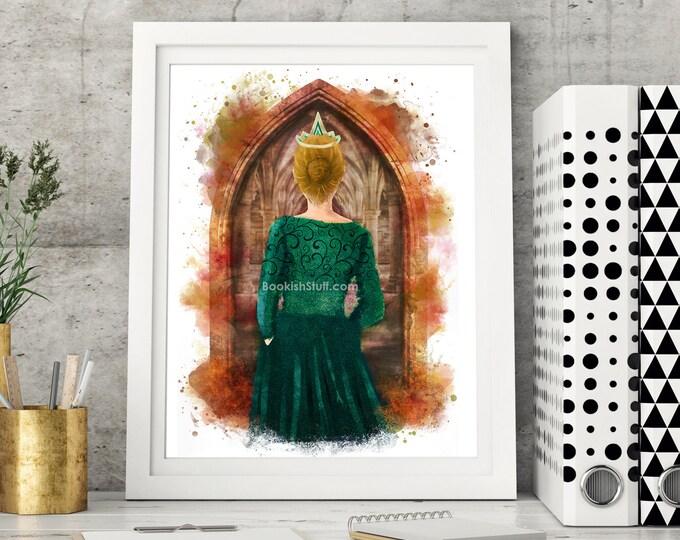 Vampire Academy Print, Vasilisa Dragomir