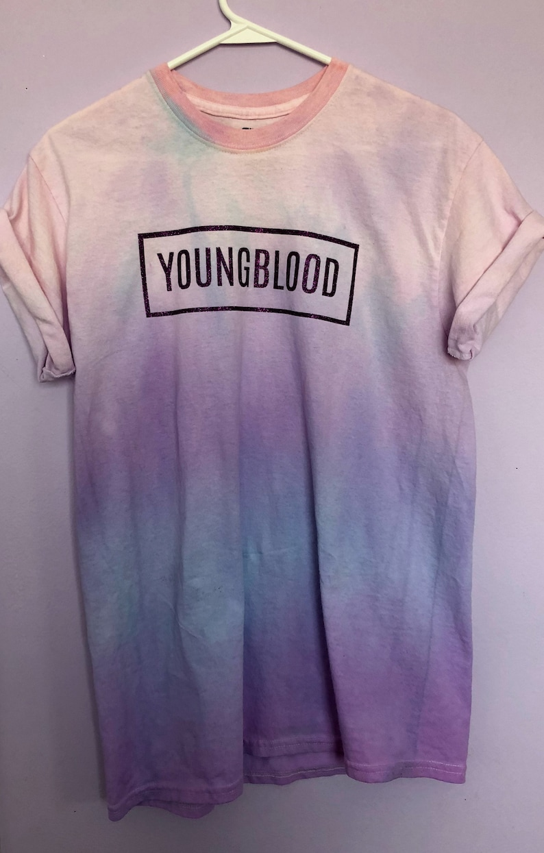 25a576a9f98 5 Seconds of Summer Youngblood Dyed T-Shirt