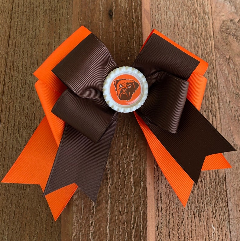 844cb75d cleveland bowns hair bow nfl bows nfl browns nfl cleveland browns shirts  cleveland browns jersey women nfl girl cleveland browns bow