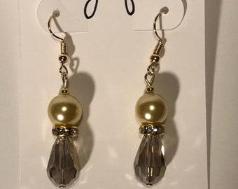 Yellow Beauty Earrings