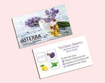 Doterra Business Cards Custom Doterra Business Card Modern