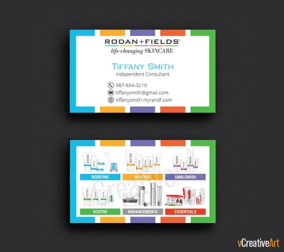 Rodan Et Cartes De Visite Des Champs Rapide Personnalis Fields Consultant Indpendant