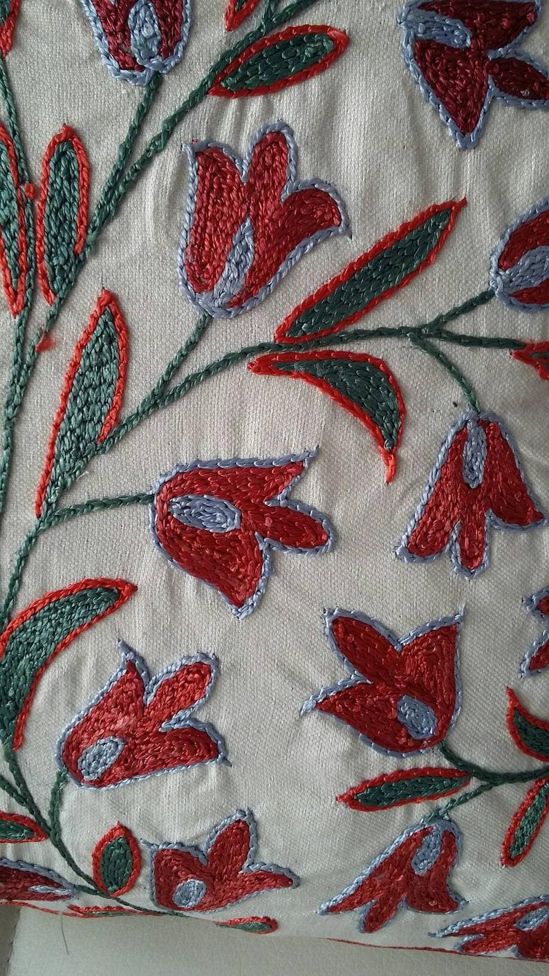 pillow cover A Handmade Suzani Pillowcase,pillow