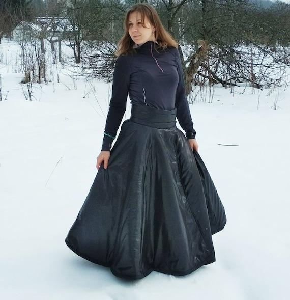 Riding skirt for women Winter riding gear Equestrian skirt