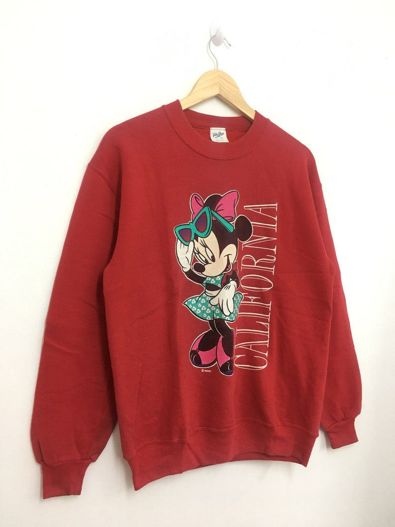 20/% OFF Vintage Minnie Mouse California Sweatshirt Made In USA Medium size.