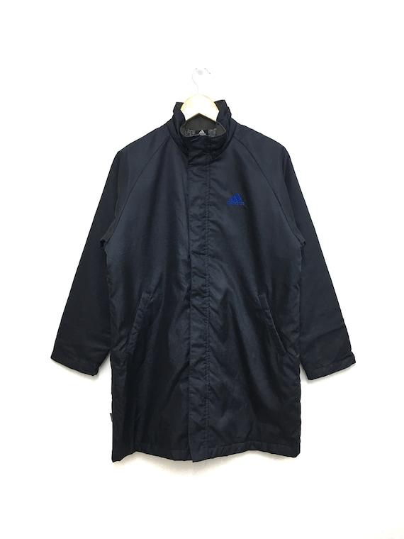 Vintage Half Brown Half Black Adidas Jacket: $45.00 Adidas