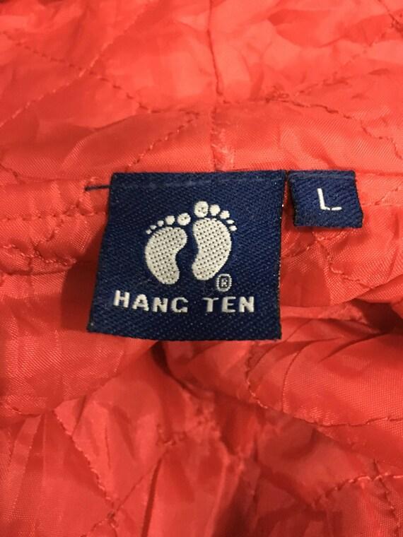 ACCROCHER Long les dix veste fermeture à glissière couleur bloc Long ACCROCHER Manche grand taille sur étiquette 37b69f