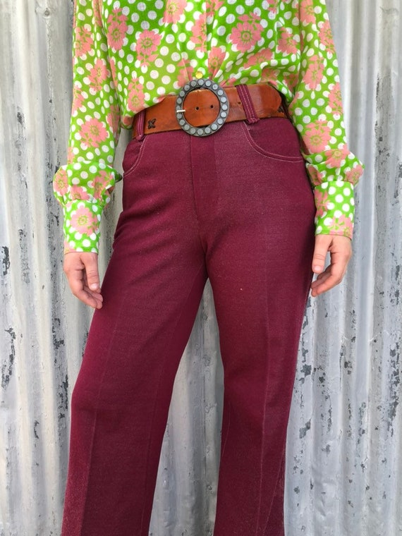 1970s bell bottoms / vintage womens 70s bell botto